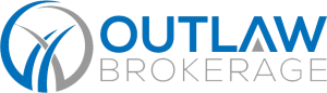 Outlaw Brokerage Horizontal Logo